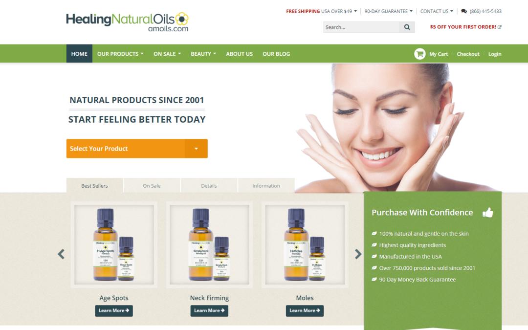 Natural Healing Oils Affiliate Management Case Study